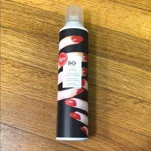 9.5oz R+Co Vicious strong hold flexible hairspray